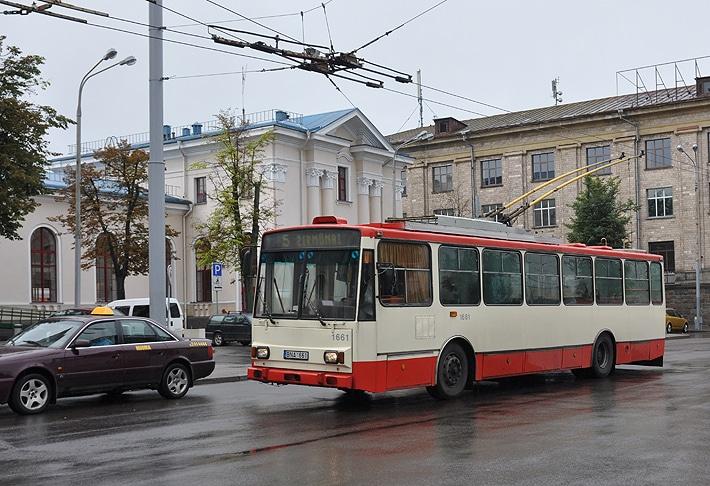 Trolejbusy w Wilnie