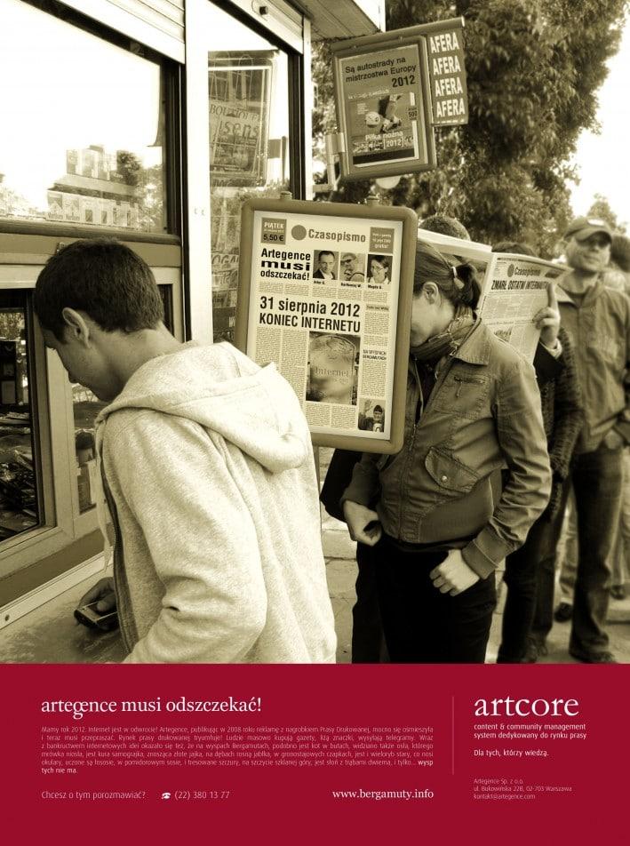 Scenariusz alternatywny dla prasy na rok 2012 się nie ziścił