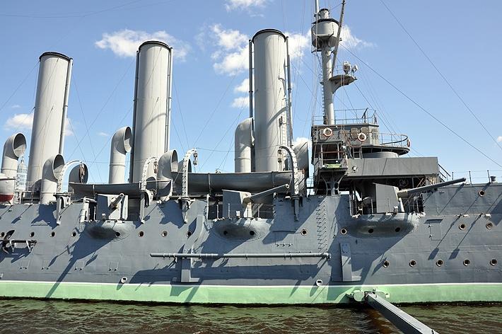 Działa krążownika Aurora