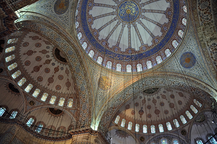 Mozaiki w Błękitnym Meczecie