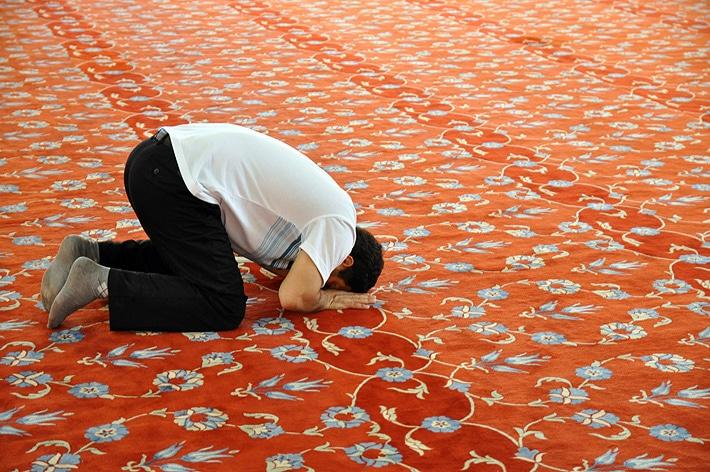 W Meczecie Sułtana Ahmeda