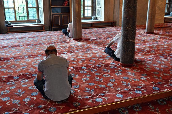 W Błękintym Meczecie