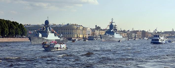 Święto Floty w Petersburgu