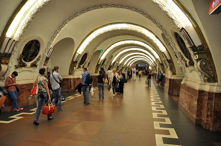 Metro w Sankt Petersburgu