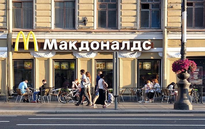 MC Donald's w Rosji