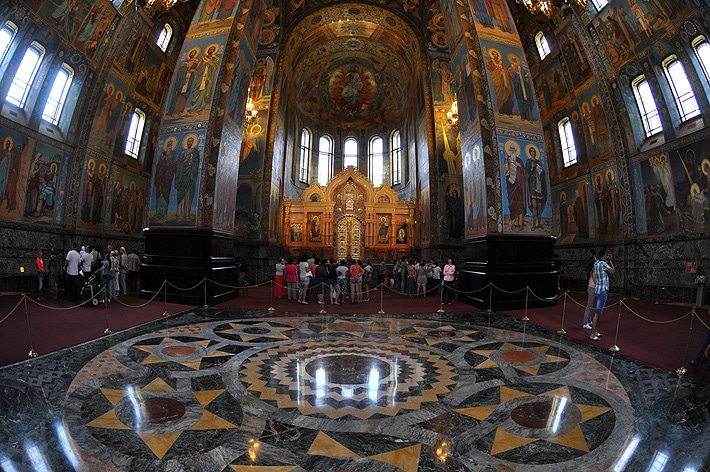Cerkiew Zmartwychwstania Pańskiego - wnętrze