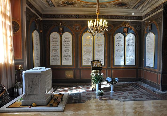 Grób rodziny ostatnich Romanowów