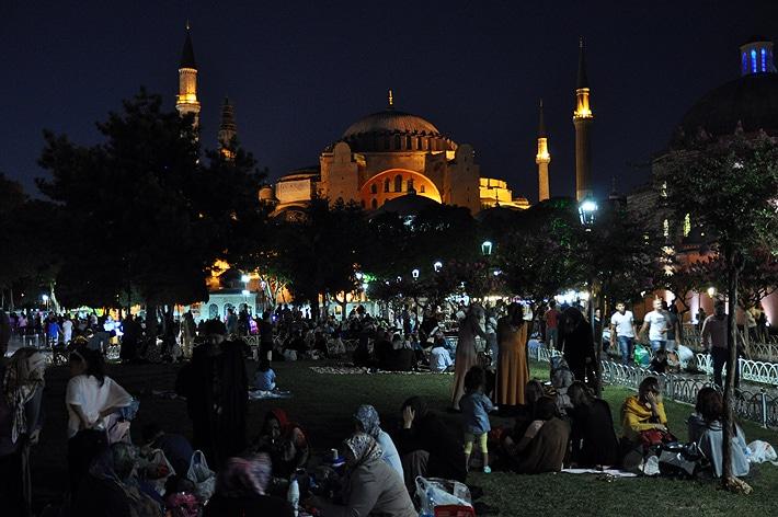 Hagia Sophia w Ramadanie