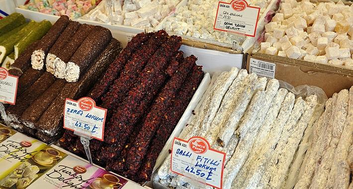 Tureckie słodycze