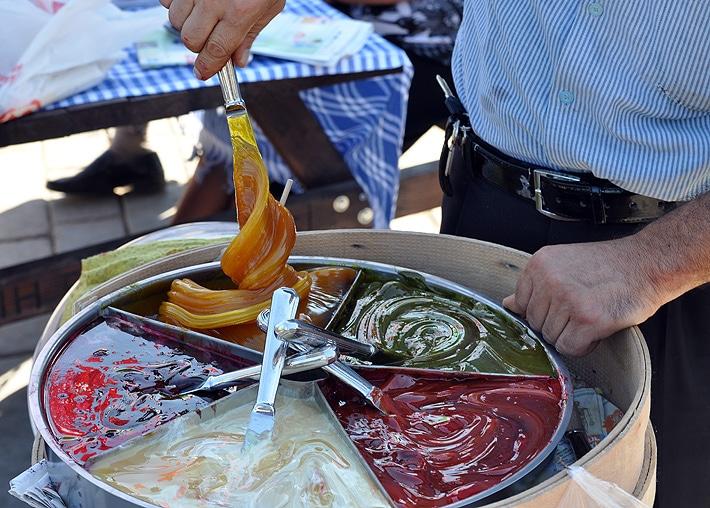 Słodycze w Stambule