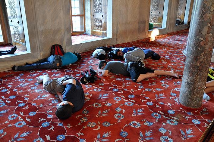 Dywan w Błękitnym Meczecie