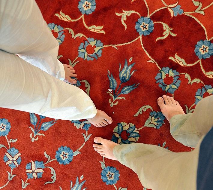 Boso w meczecie