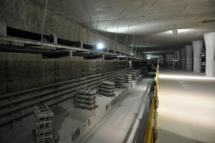 Metro Rondo ONZ w budowie