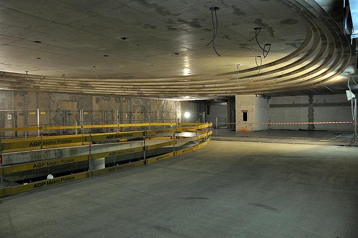 Korytarze stacji Rondo ONZ