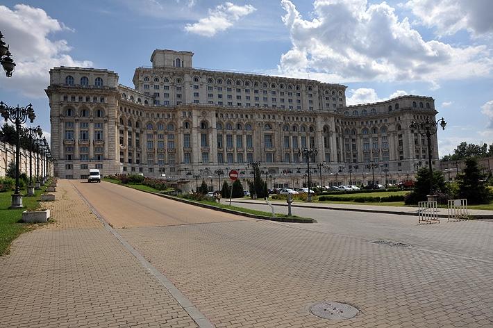 Pałac Parlamentu, Bukareszt