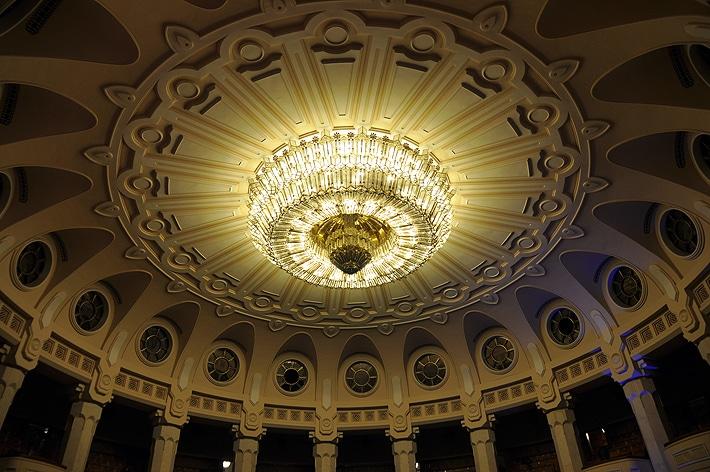 Wnętrza Pałacu Parlamentu w Bukareszcie