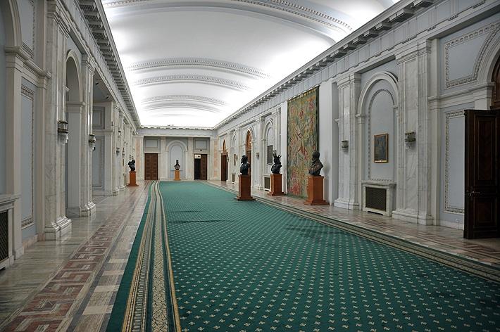 Wnętrza Pałacu Parlamentu