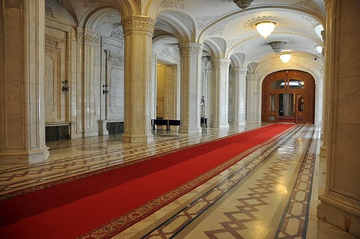 Wnętrza - Pałac Parlamentu
