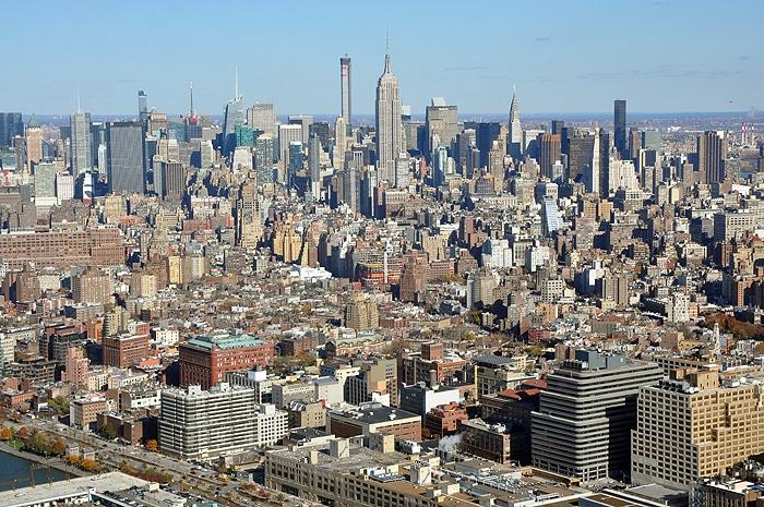Manhattan i Empire State Building