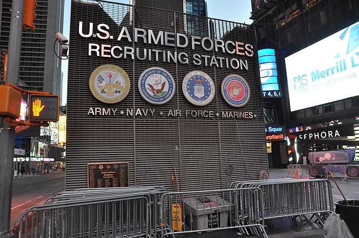 Punkt rekrutacyjny US Army