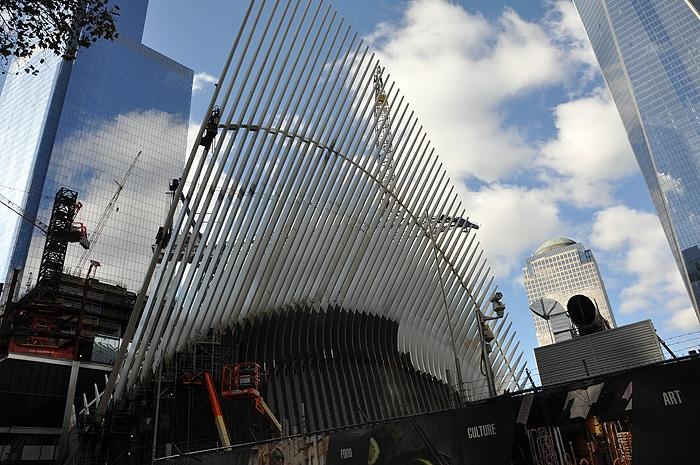 Budowa WTC Transporation Hub