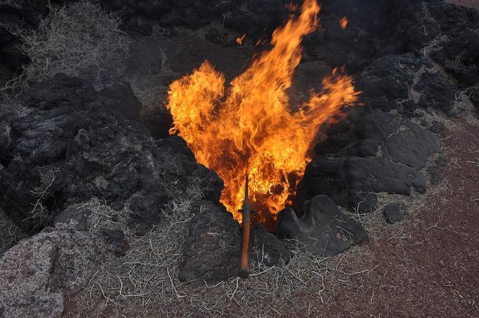 Gorące wulkany Timanfaya