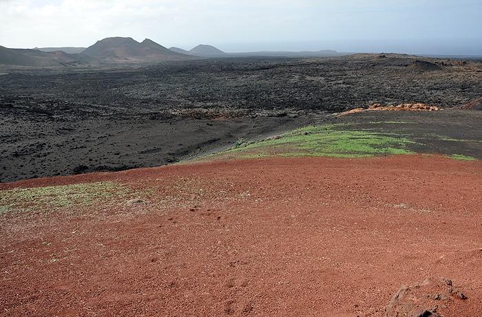 Krajobraz wulkaniczny Lanzarote