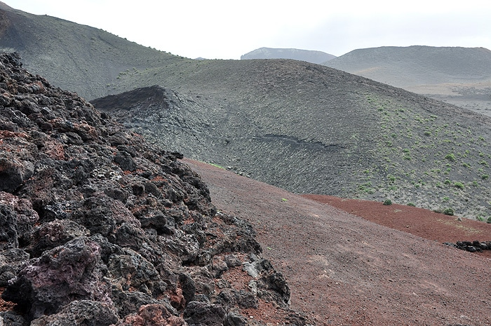 Krajobraz Lanzarote i Timanfaya