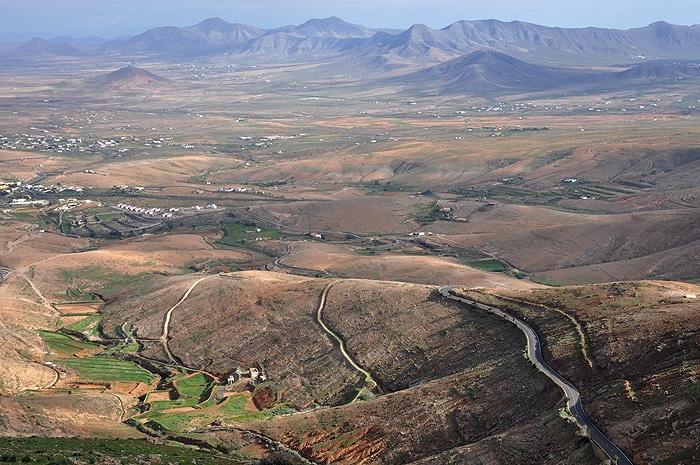 Góry na Fuerteventurze
