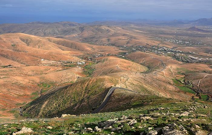 Góry w okolicy Betancuria