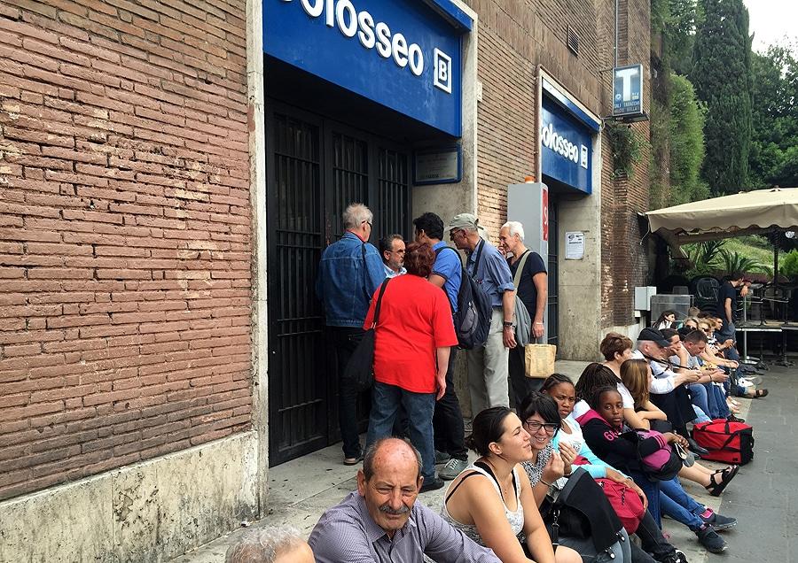 Strajk metra w Rzymie