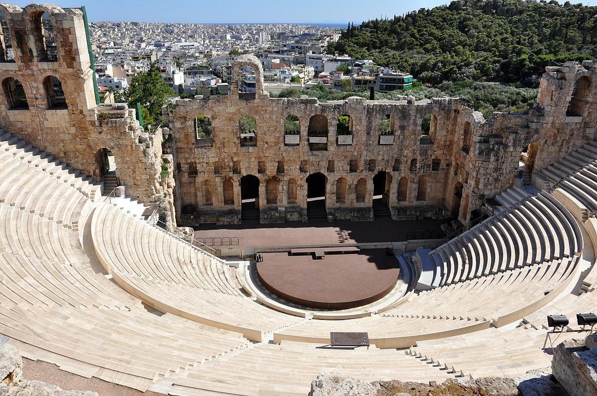 Amfiteatr na Akropolu