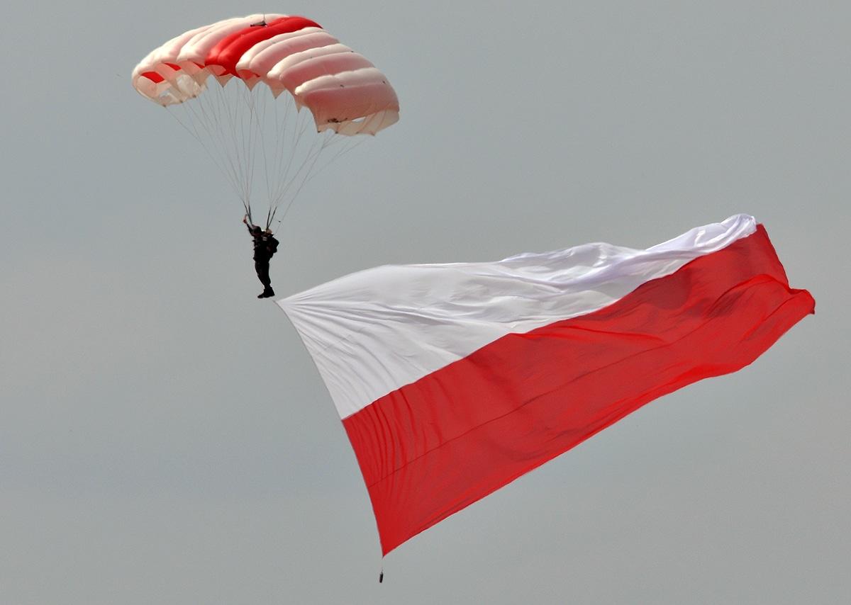 Desant z flagą