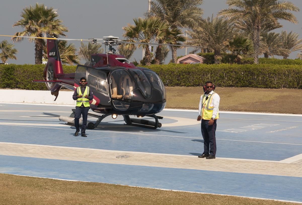 Helipad w Dubaju