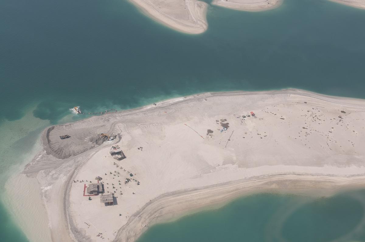 Dubaj - wyspy