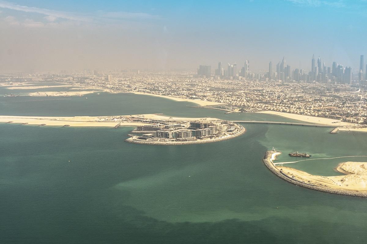 Dubaj - sztuczne wyspy