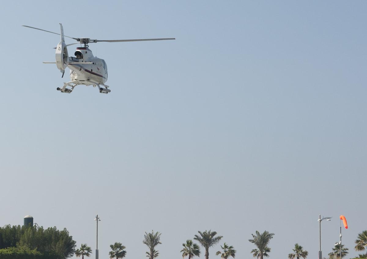 Dubai Atlantis helipad