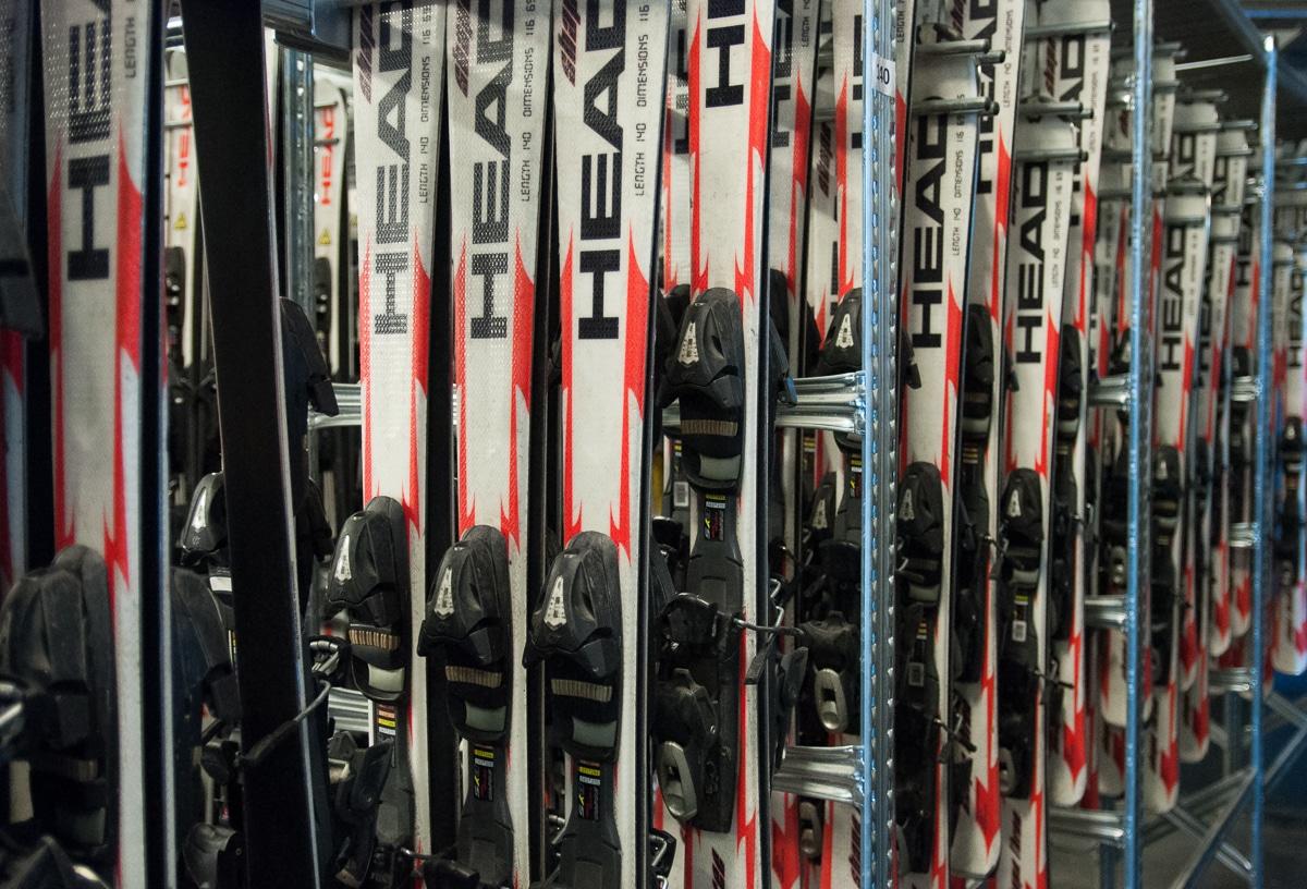 Wypożyczalnia nart w Snow Arena Druskienniki