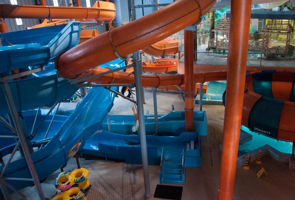 Druskienniki - Aquapark zjeżdżalnie