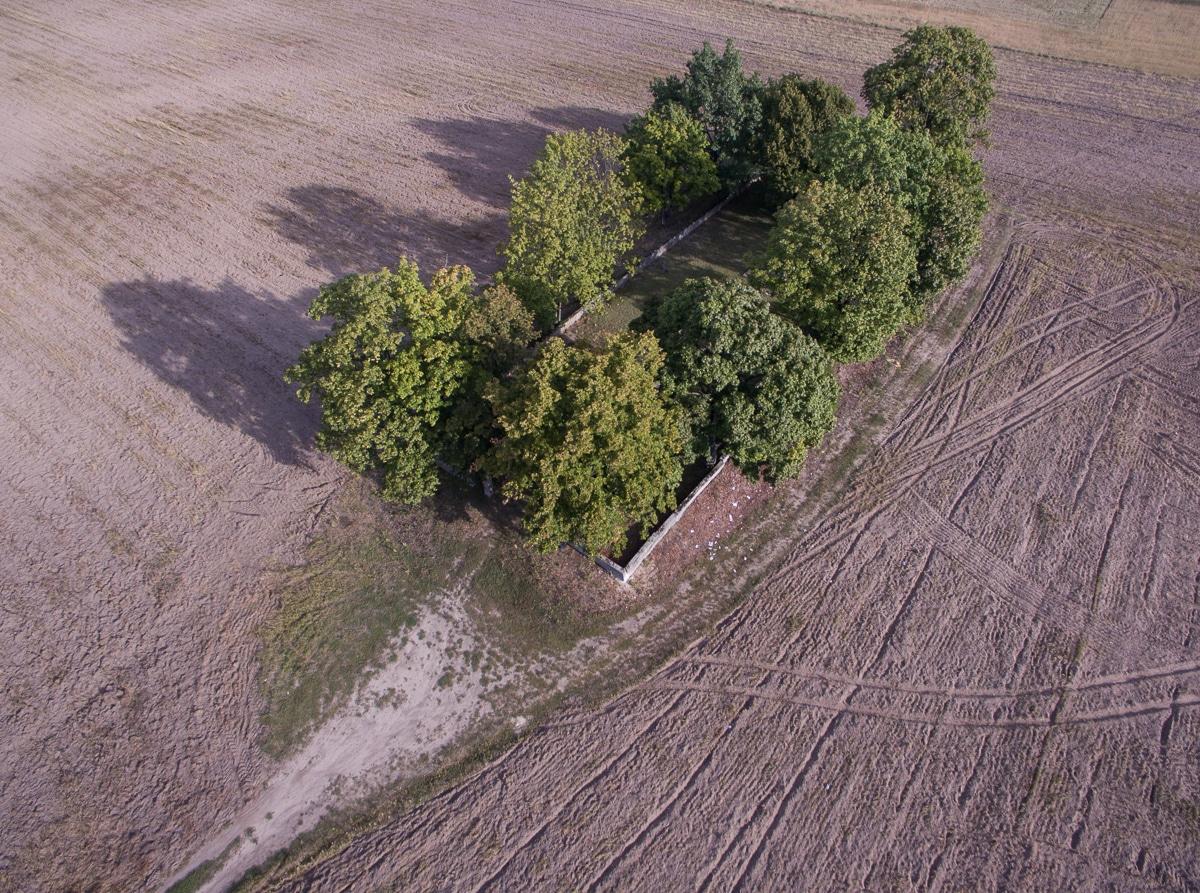 Pęcice - cmentarz z czasów I wojny światowej