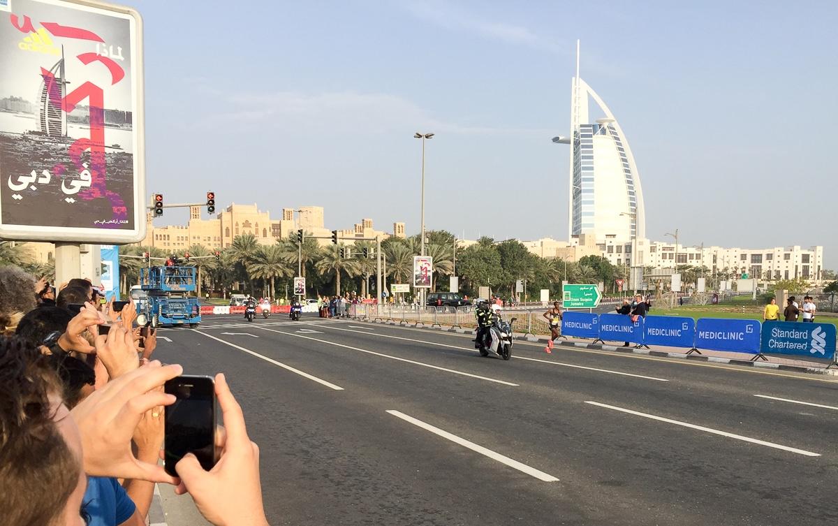 Dubai Marathon - Tola