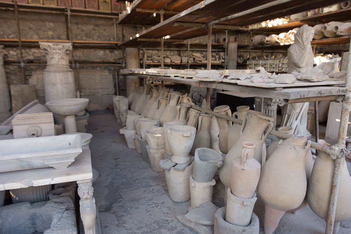 Wykopane w Pompejach