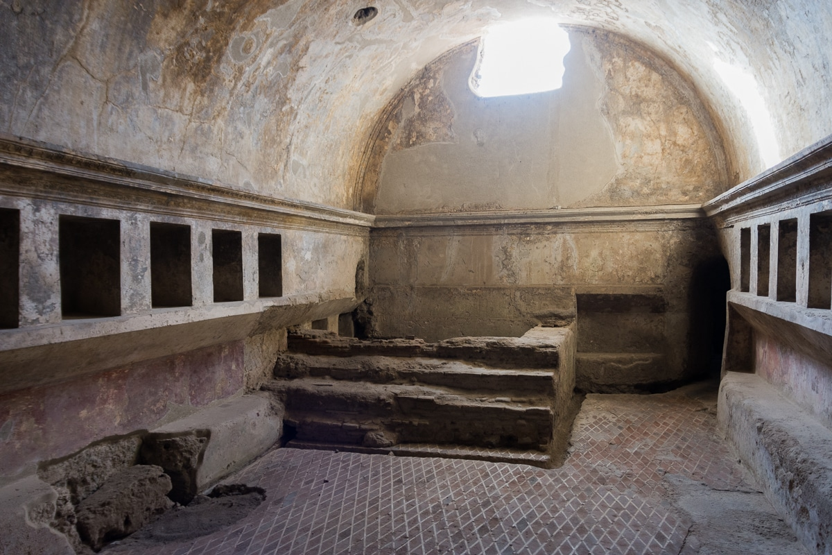 Łaźnia w Pompejach