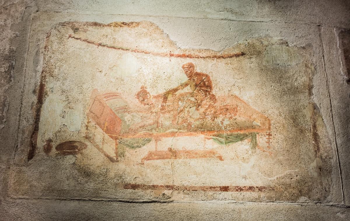 Dom publiczny w Pompejach