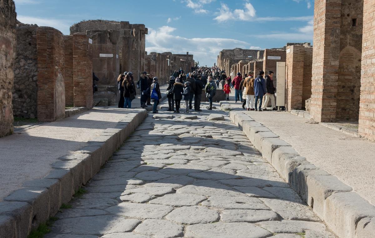 Ulice w Pompejach