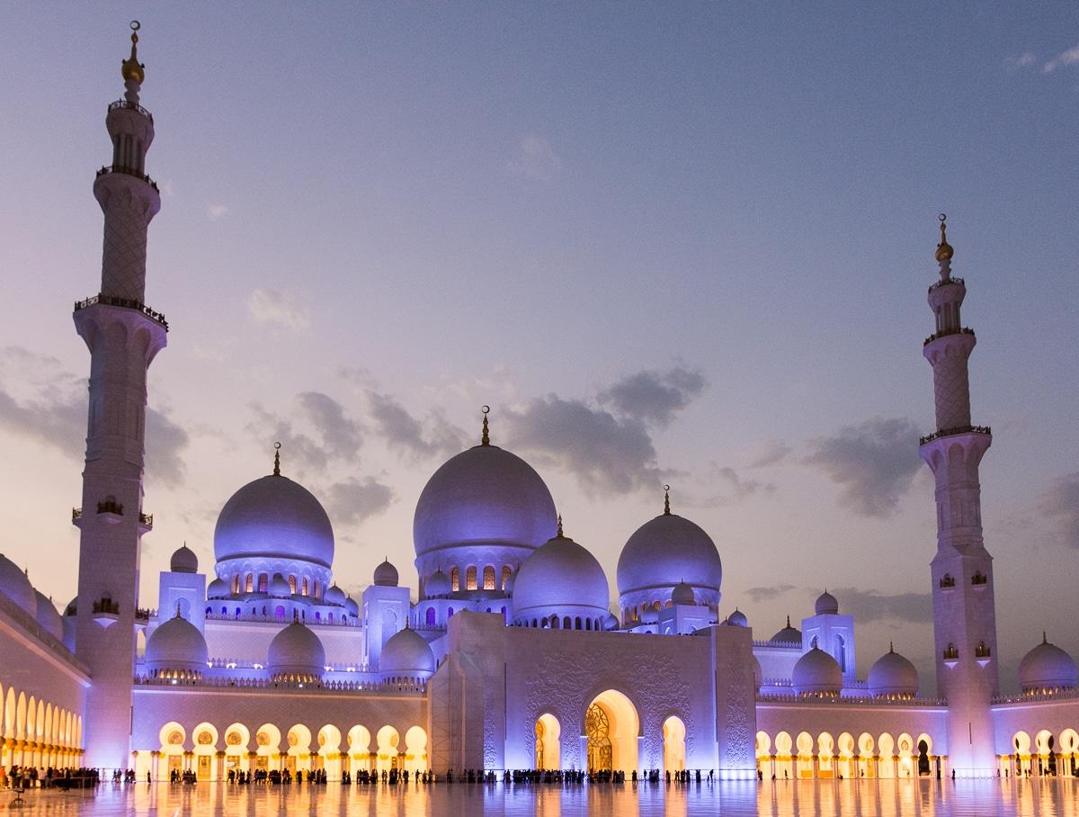 Meczet w Abu Dhabi