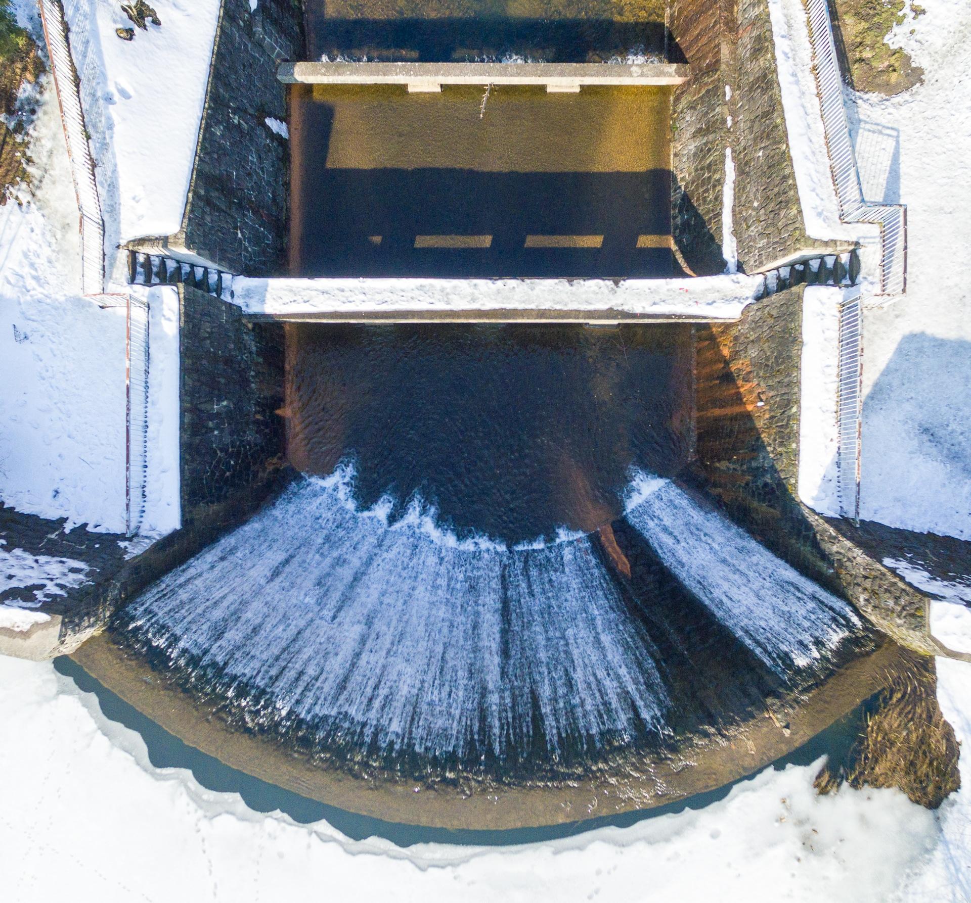 Wodospad w Wisła Czarne