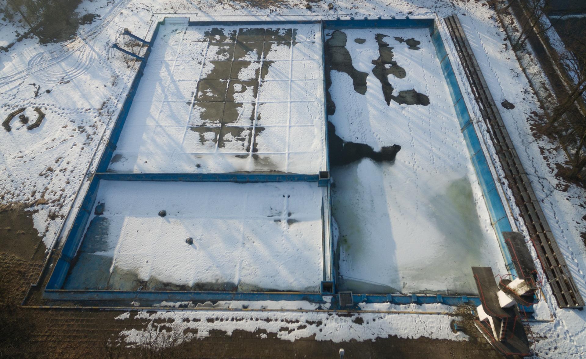 Opuszczony basen w Wiśle