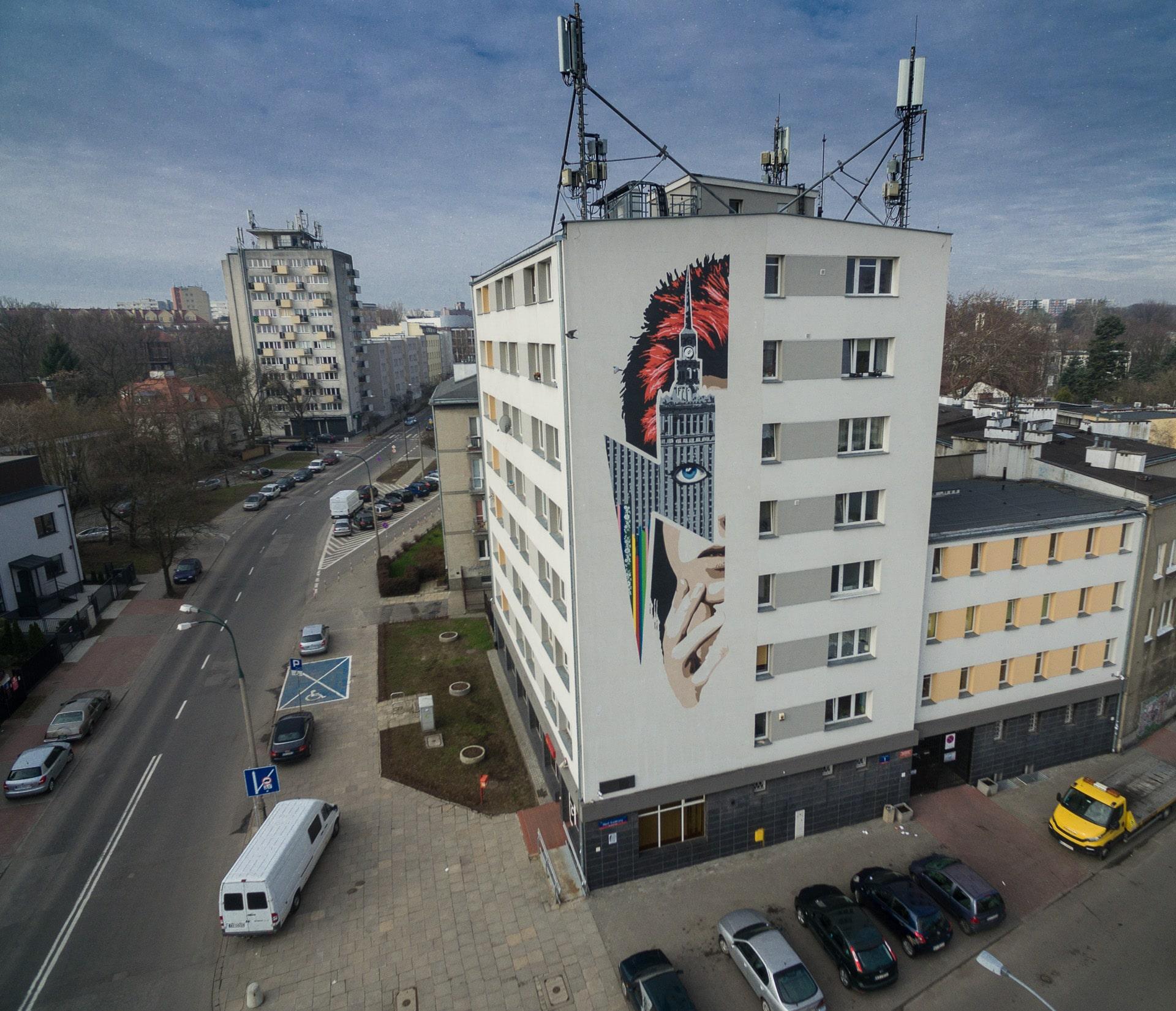 Mural David Bowie