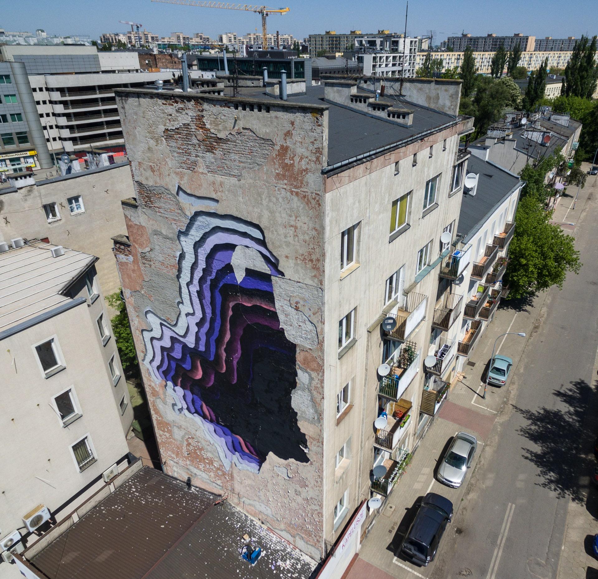 Mural Dziura w całym